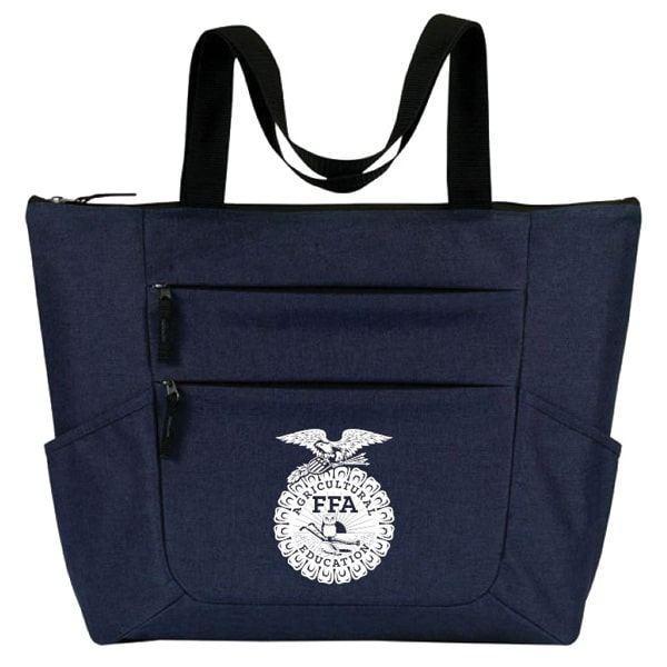 new product abc3f c4d30 PREMIUM ZIPPERED TOTE NAVY